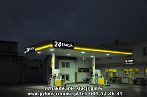 Oświetlenie Led Stacji Paliw Artvision Stacje Paliw